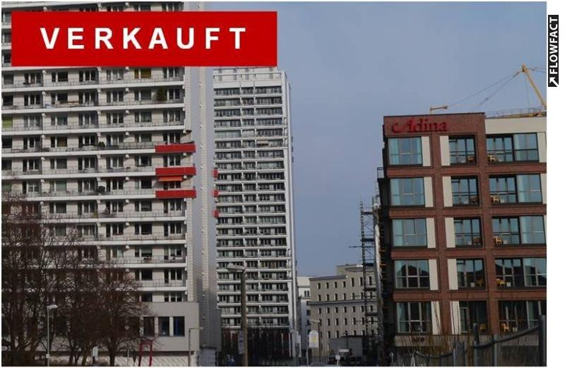 VERKAUFT :: Cityapartment nahe Gendarmenmarkt  :: 9. OG mit sonnigem Balkon nach Westen :: Kapitalanlage